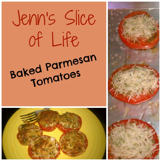 Baked Parm tomatoes