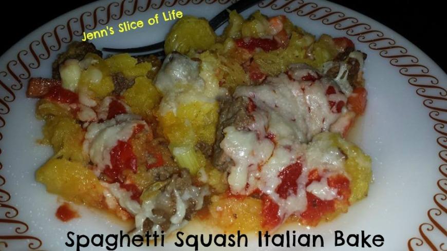 Spaghetti Squash Italian Bake 2